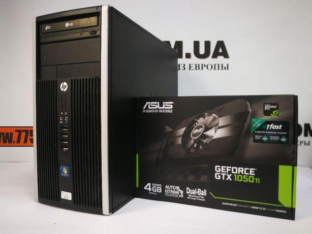 Игровой компьютер, Core i5 3.4GHz, 8GB RAM, SSD+HDD, GTX 1050Ti 4GB