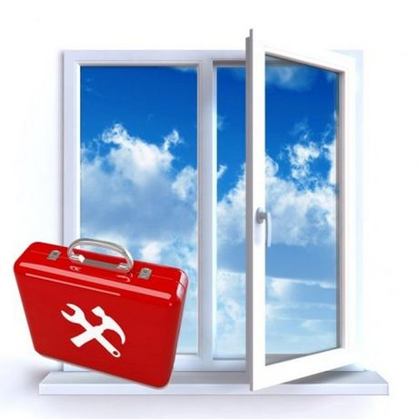 Ремонт и регулировка металлопластиковых окон и дверей Кременчуг.
