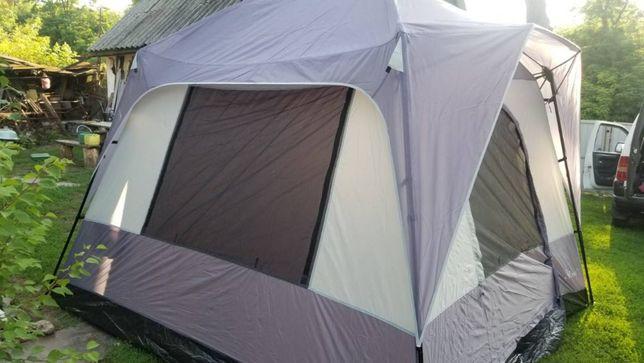 Шатер Беседка с полом палатка летняя тент 3*3*2,2 м.Lanyu 1918