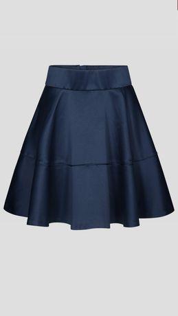 Granatowa spodniczka spodnica Orsay 38 M kieszenie zamek zip Nowa metk