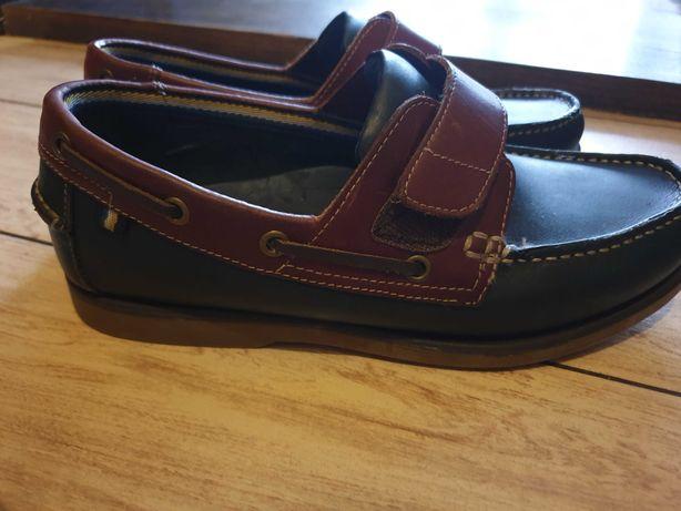 Туфли для мальчика подростка Marks & Spencer Blue Harbour