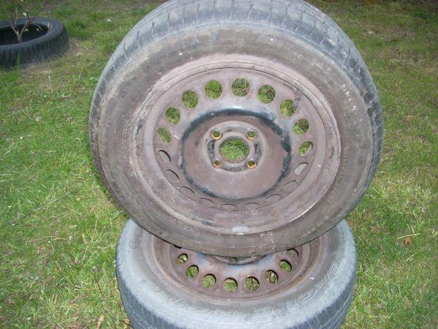 Felgi stalowe 15 z oponami Opel astra 2