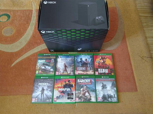 Xbox Series X + 9 Gier Gwarancja