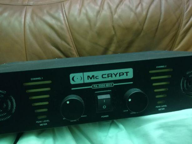 Koncowka mocy Mc Crypt Pa 5000 mk2 wzmacniacz