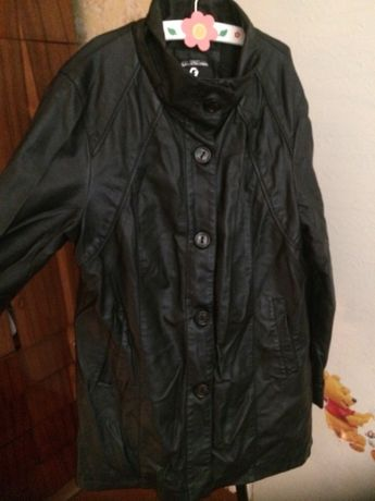 Куртка кожзам 52 р