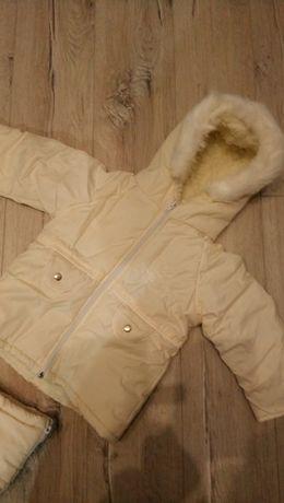 Куртка на овчині 86 см. Конверт на виписку. 0-2 р.