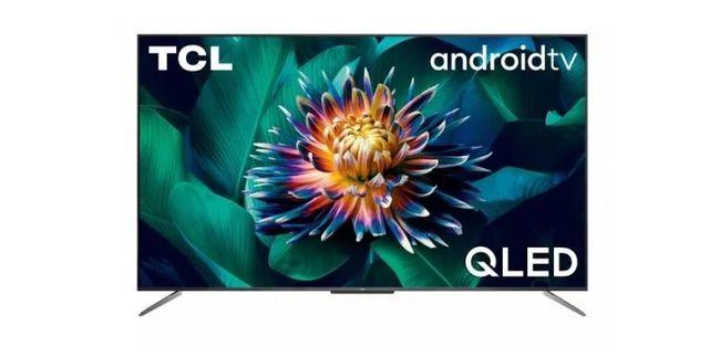 Telewizor TCL 50C715 4K UHD, Matryca: QLED, Odświeżanie: 2400 Hz