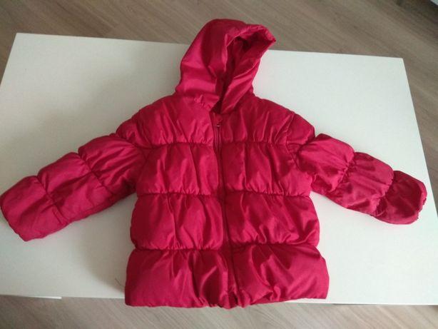 Czerwona kurtka dla 2-3 latki
