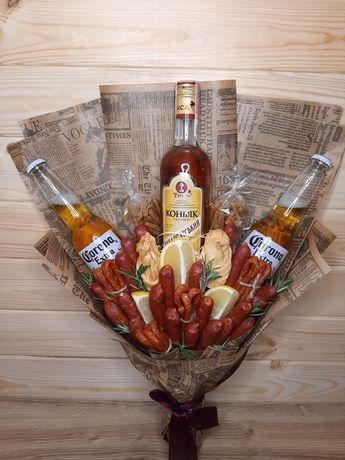 Мужские съедобные букеты/ Подарки для мужчин