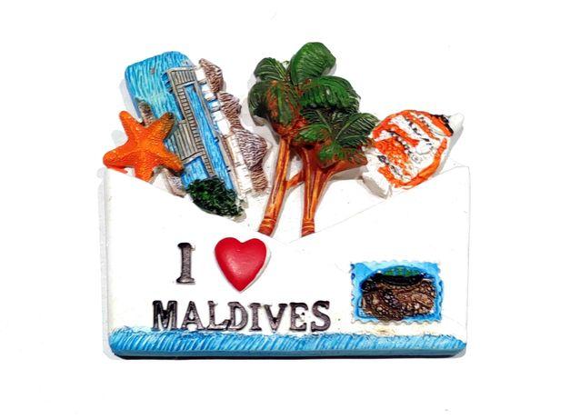 Magnes na lodówkę Malediwy