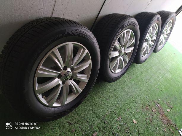 Alufelgi r18 5x120 VW amarok nowe opony okazja