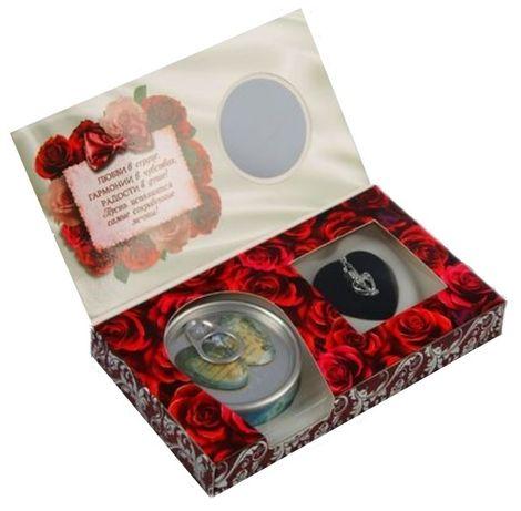 Подарочный набор Жемчужина желаний с кулоном и цепочкой для жемчужин