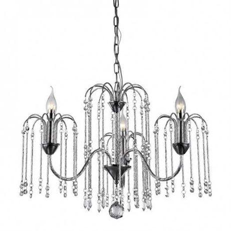 Lampa żyrandol glamour kryształ