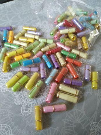 Kapsułki liściki 100 sztuk ślub kolorowe list miłosny życzenia  księga
