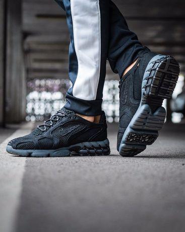 Мужские кроссовки Nike X Stussy Air Zoom Spiridon cage Black 41-45