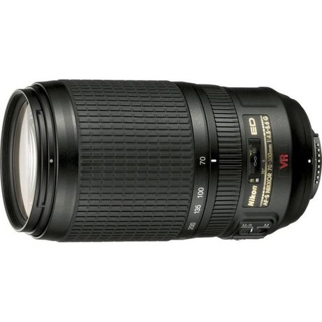 телеобъектив Nikon AF-S VR Zoom-Nikkor 70-300mm f/4.5-5.6G IF-ED