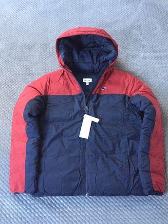 Nowa, Lacoste, kurtka zimowa, rozm. ok. 172 cm