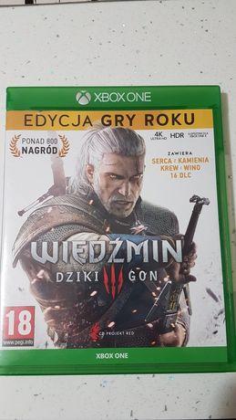 Gra wiedźmin Xbox one