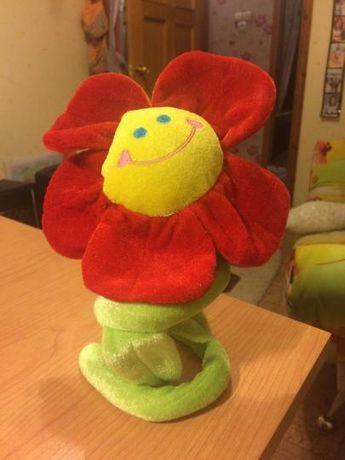 Подарок: Игрушка плюшевая цветок к 8му марта