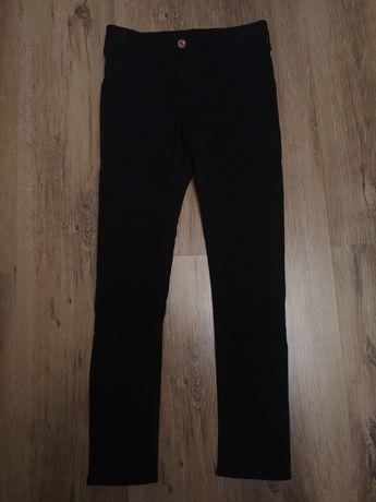 Spodnie H&M 146 jak nowe czarne