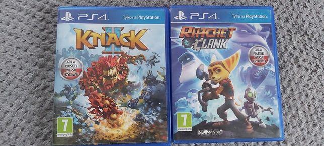 Knack 2, Ratchet i Clank PS4