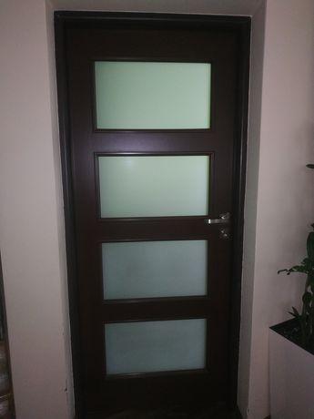 Skrzydło drzwiowe 80cm 7sztuk, 90cm 1sztuka