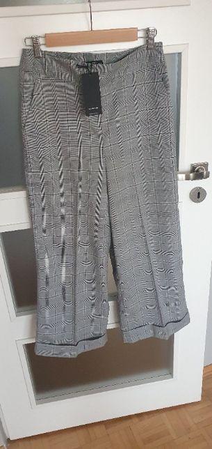 Spodnie w kratkę kuloty