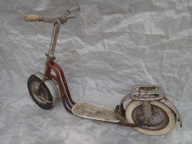 Hulajnoga stara retro prl jeździk