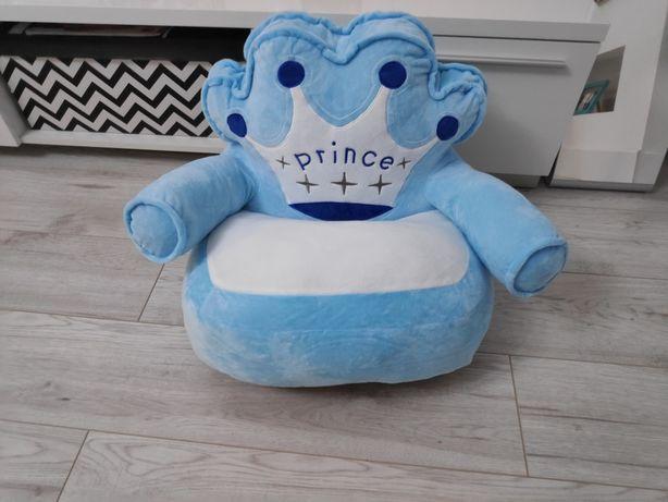 Fotel niebieski Prince dla chłopca