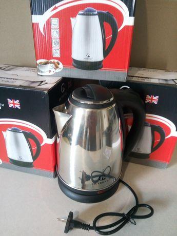 Чайники электрические + Подарок!!! Зажигалка пьезо для газовых плит.