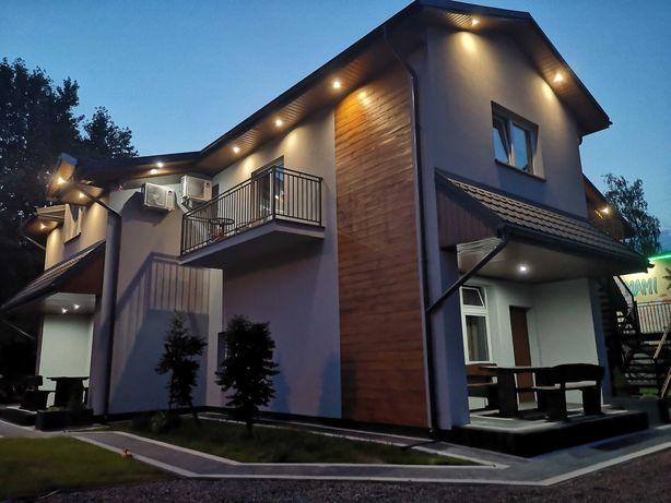 Komfortowe domki Piano Okuninka, noclegi Jezioro  Białe