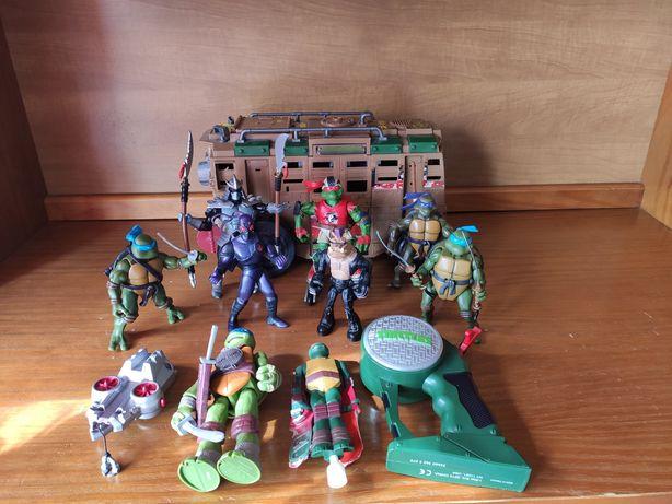 Tartarugas Ninja + Acessórios