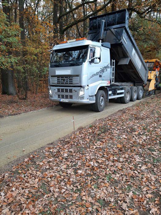 Transport Wywrotka 20T kruszywa piasek ziemia Kłodawa - image 1