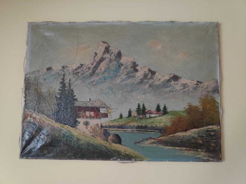 Obraz olejny MULLER Krosno Odrzańskie - image 1