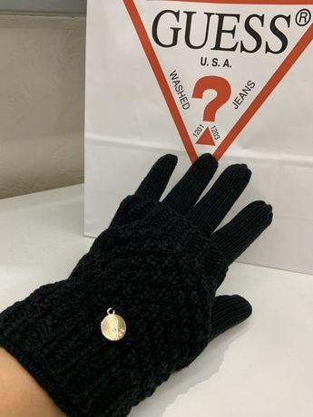 Перчатки варежки Guess hilfiger zara benetton