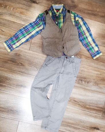 Чиносы брюки штаны флисовые carters жилетка рубашка 5-6 лет за все 150