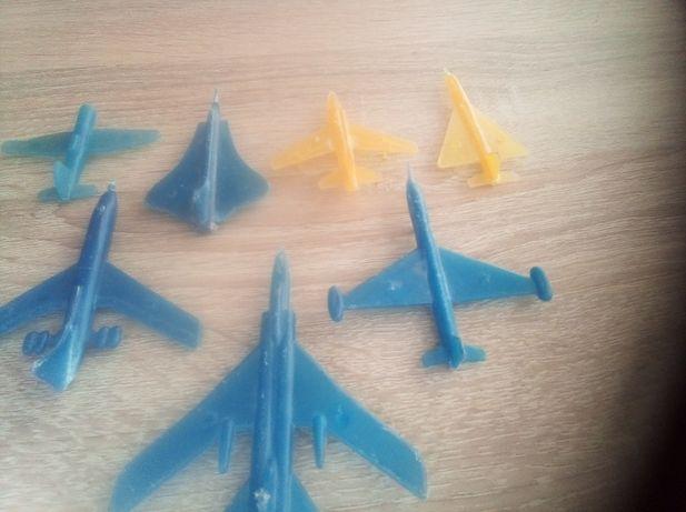 Игрушка набор военной техники СССР самолёты