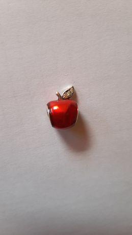 Charms s925 Pandora Yes Apart czerwone jabłko do bransoletek modułowyc