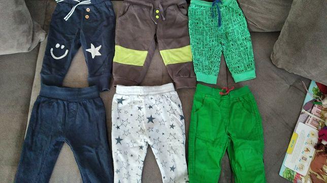 Zestaw spodni chłopięcych dla noszących 74
