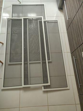 Moskitiery  ramkowe  okienne 4 sztuki