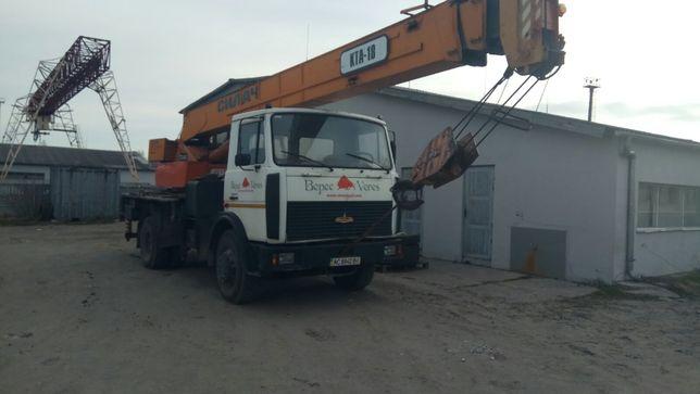 Автокран МАЗ 5337 10-20Т-С