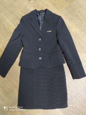Школьная форма пиджак юбка
