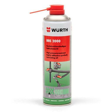 Смазка Wurth HHS 2000 500ml