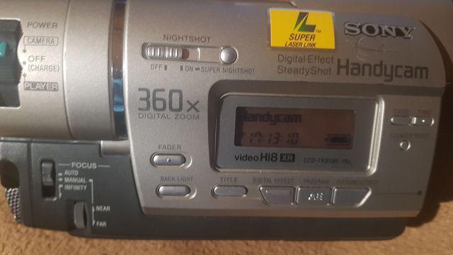 Kamera sony handycam ccd-tr918e
