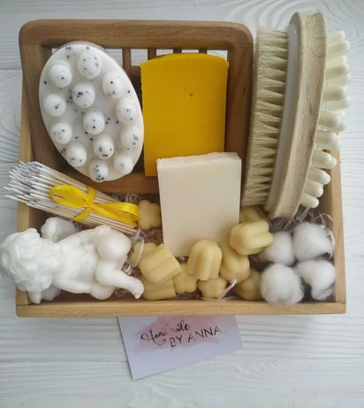 натуральная косметика,мыло ручной работы, гидрофильные плитки,набор
