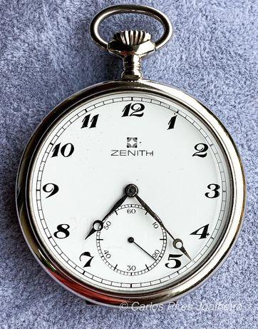 Relógio de bolso Zenith Corda manual Aço