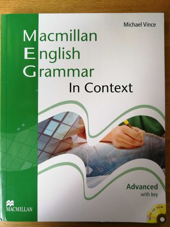 Macmillan English Grammar in Context Advanced with key. Gdańsk