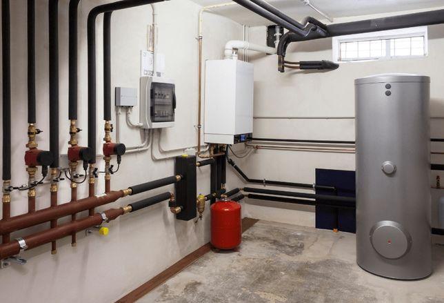 Монтаж систем отопления, твердотопливное, газ, электричество, дизель