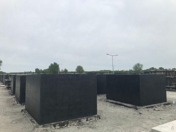 Szamba, szambo betonowe, zbiorniki betonowe na deszczówkę. PRODUCENT