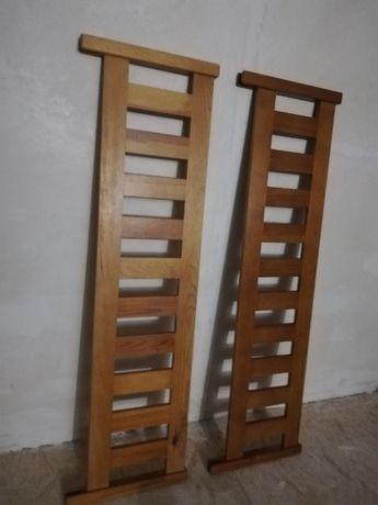 Barierka drewniana/ochronna na łózko